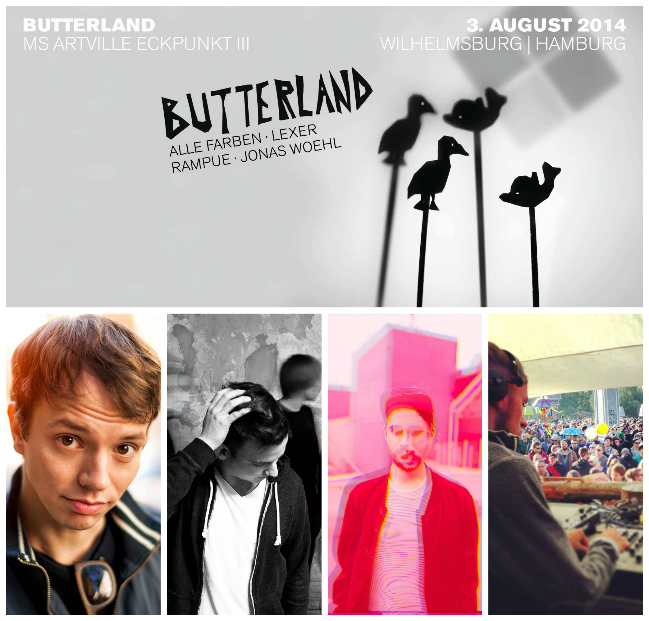sonntag 3 august alle farben she moves butterland 2014 auf dem ms artville 14h ak. Black Bedroom Furniture Sets. Home Design Ideas