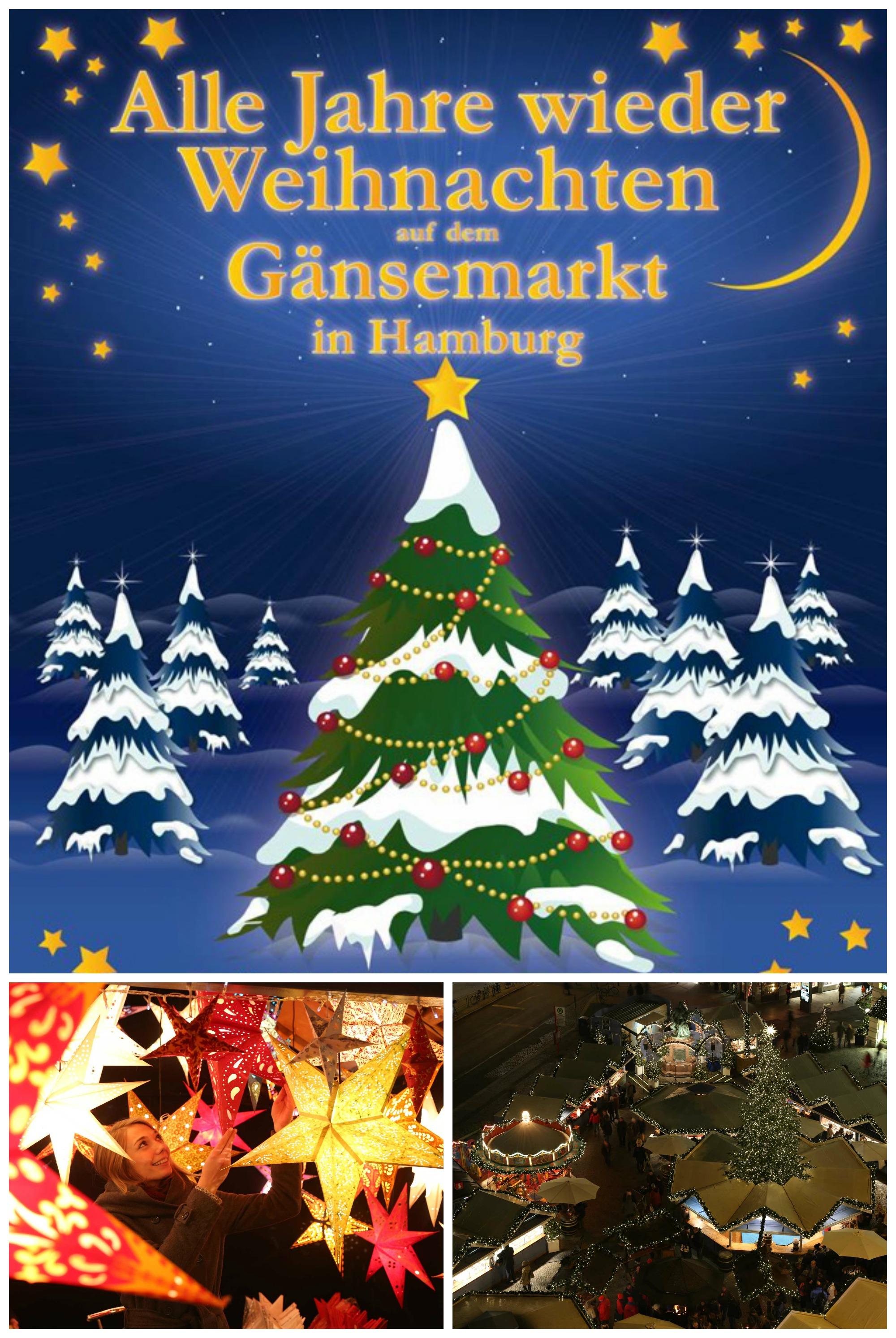 Alle Jahre wieder – Weihnachten auf dem Gänsemarkt! Dieses Jahr ...