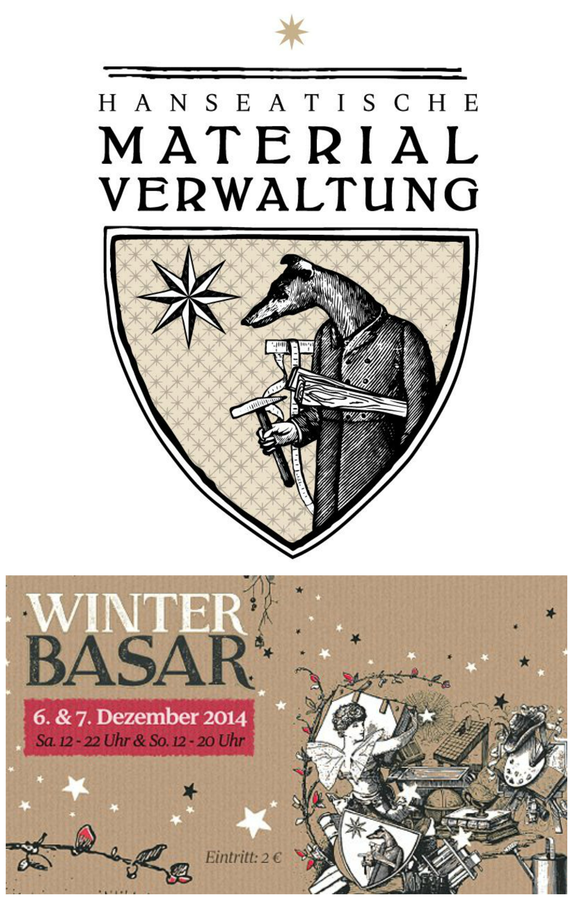 Winterbasar in der Hanseatischen Materialverwaltung - Immer noch ...