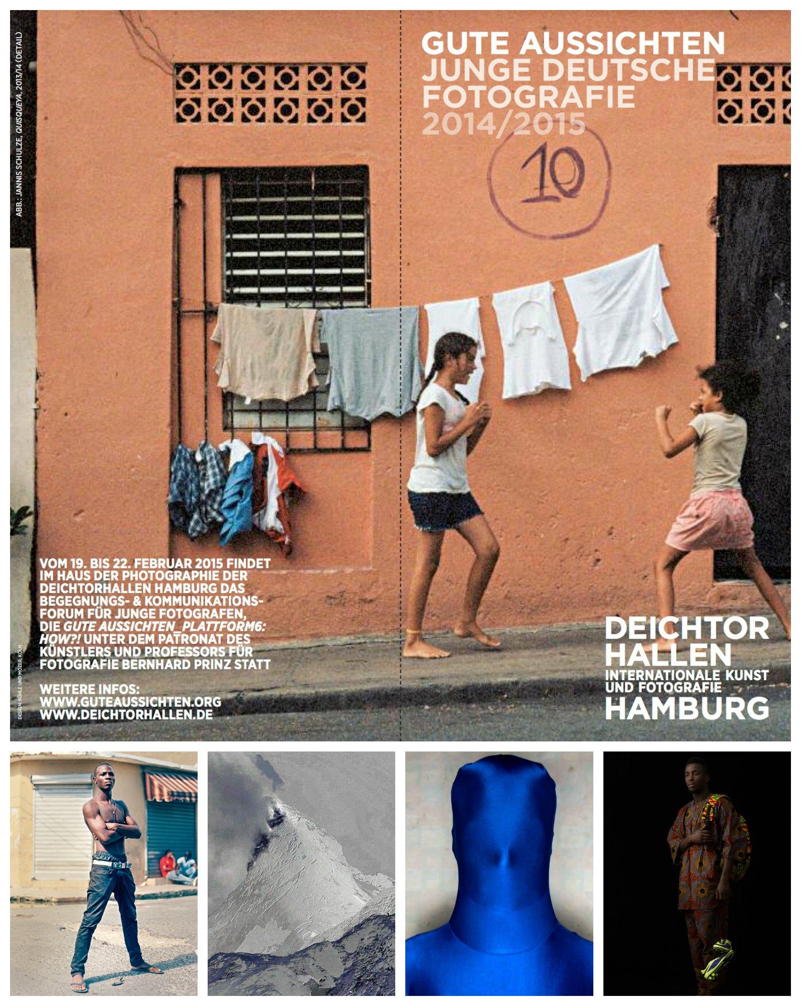 Großer Ausstellungs-Tipp: gute aussichten – junge deutsche fotografie 2014 / 2015! Instagramers & Fotofilter-Akrobaten – sperrt eure Lauscher auf, denn hier gibt es richtig was zu gucken! Im elften Jahr von gute aussichten wählte die siebenköpfige Jury acht Arbeiten aus, wie sie unterschiedlicher kaum sein könnten. Zusammen umfassen sie über 300 Motive, 2 Videoprojektionen und 3 Künstlerbücher! Die Ausstellung startet heute und ist noch bis zum 8. März 2015 im Haus der Photographie (Deichtorhallen)