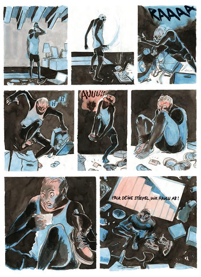 Das Comic Festival hat ein neues Konzept! Und startet bereits im Mai mit monatlich stattfindenden Einzelveranstaltungen in wechselnden Locations! Heute seht ihr großflächige Arbeiten und schnelle Portraitzeichnungen von Mikael Ross in der Roten Flora! Dazu gibt es wummernde Bässe und schrammende Gitarren! Freut euch auf laute Comics, große Kunst und durchdringende Musik!