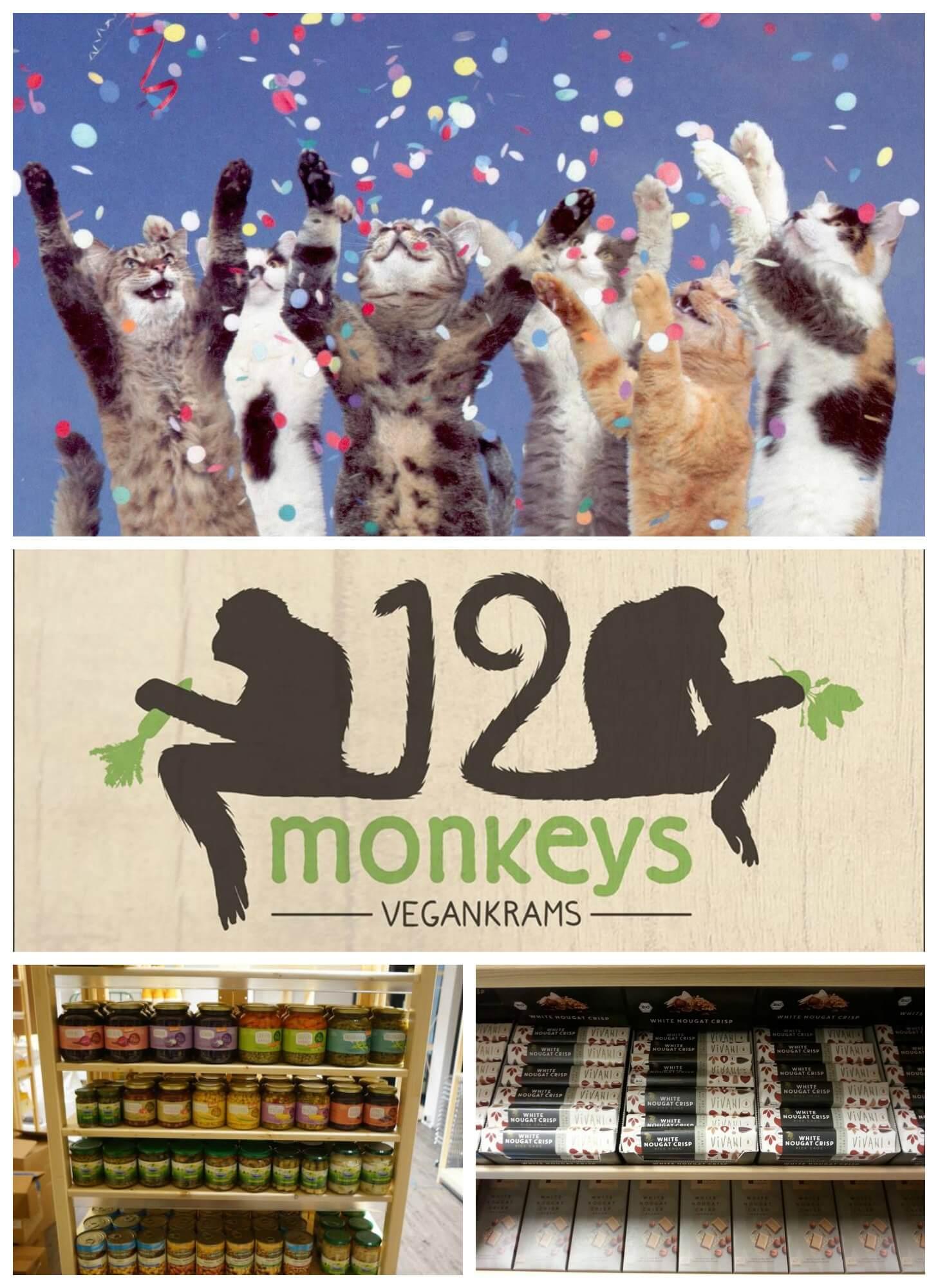 Aufgepasst! Hamburg bekommt eine tolle neue Einkaufsmöglichkeit. Köstliche Leckereien und alles für das tägliche Überleben bekommt ihr ab jetzt bei Twelve Monkeys – Vegankrams! Zur Eröffnungsfeierlichkeit gibt es ein kleines veganes Straßenfest mit vielen tollen Überraschungen direkt vor der Ladentür!