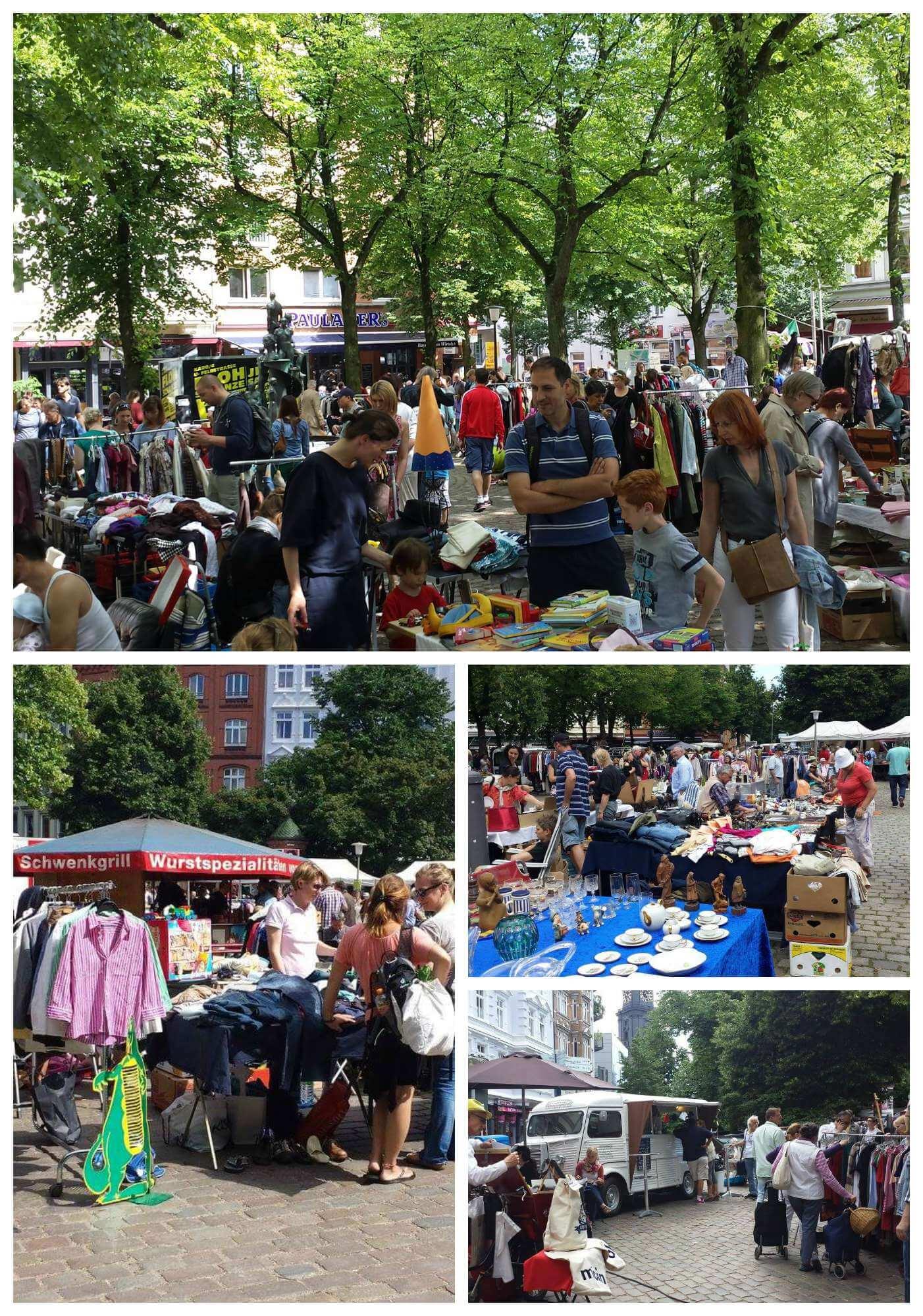 Hamburg Flohmarkt Sonntag
