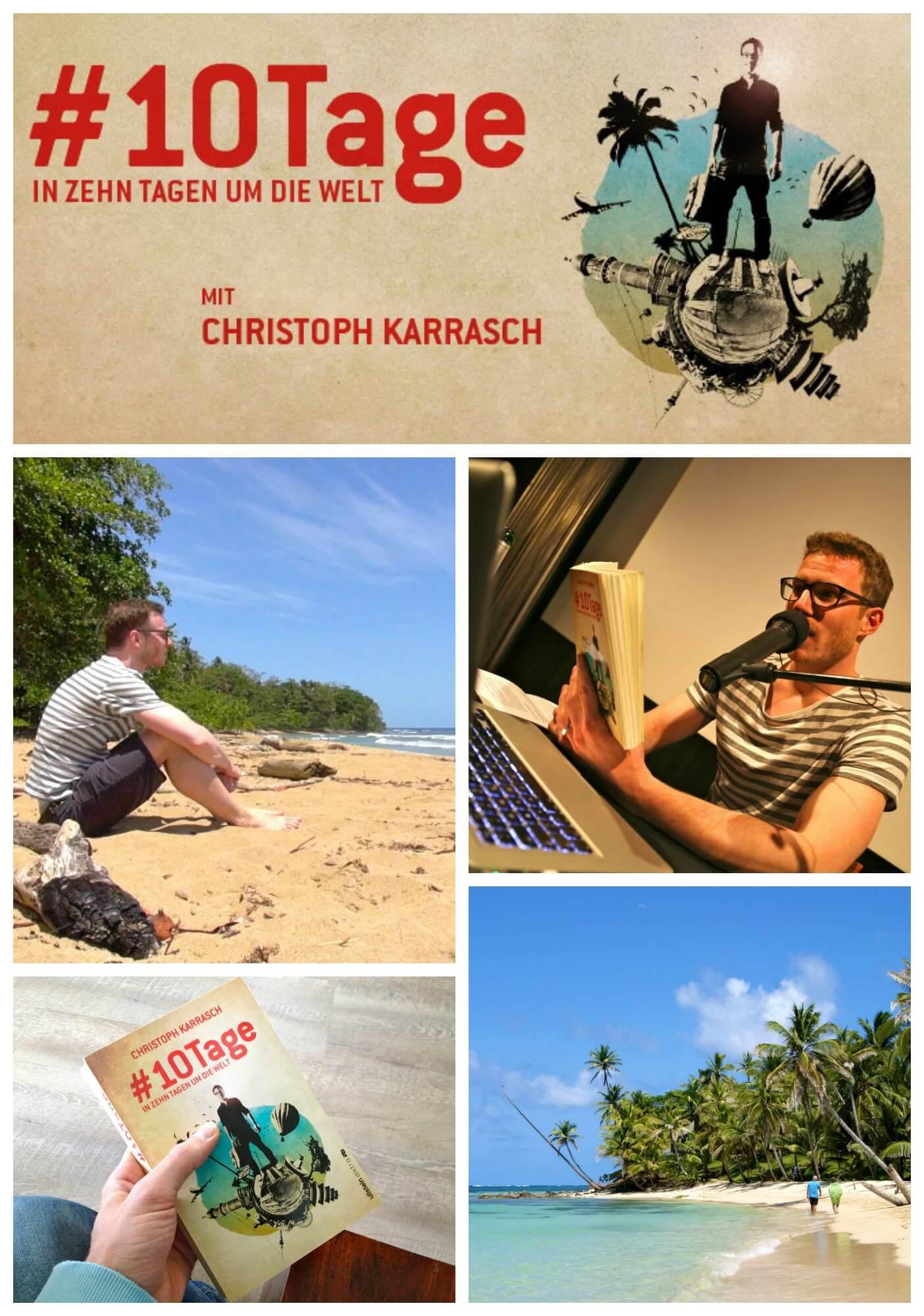 """Mal kurz die Welt erobern! In seiner Multimedia-Lesung """"#10Tage – In zehn  Tagen um die Welt"""" berichtet Reiseautor Christoph Karrasch wie es ist mit  Vollgas ..."""