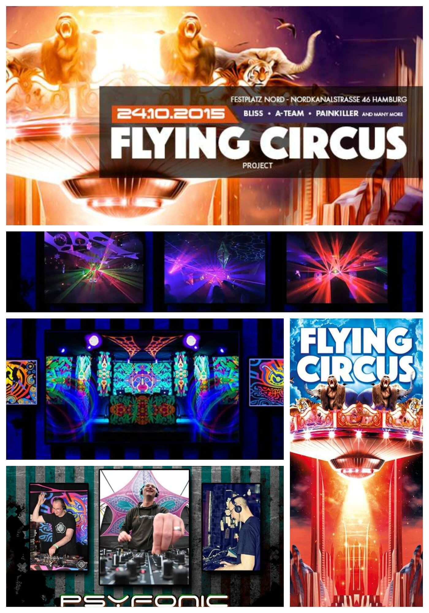 Flying Circus Project presents Nutek Label Night! Eines ...
