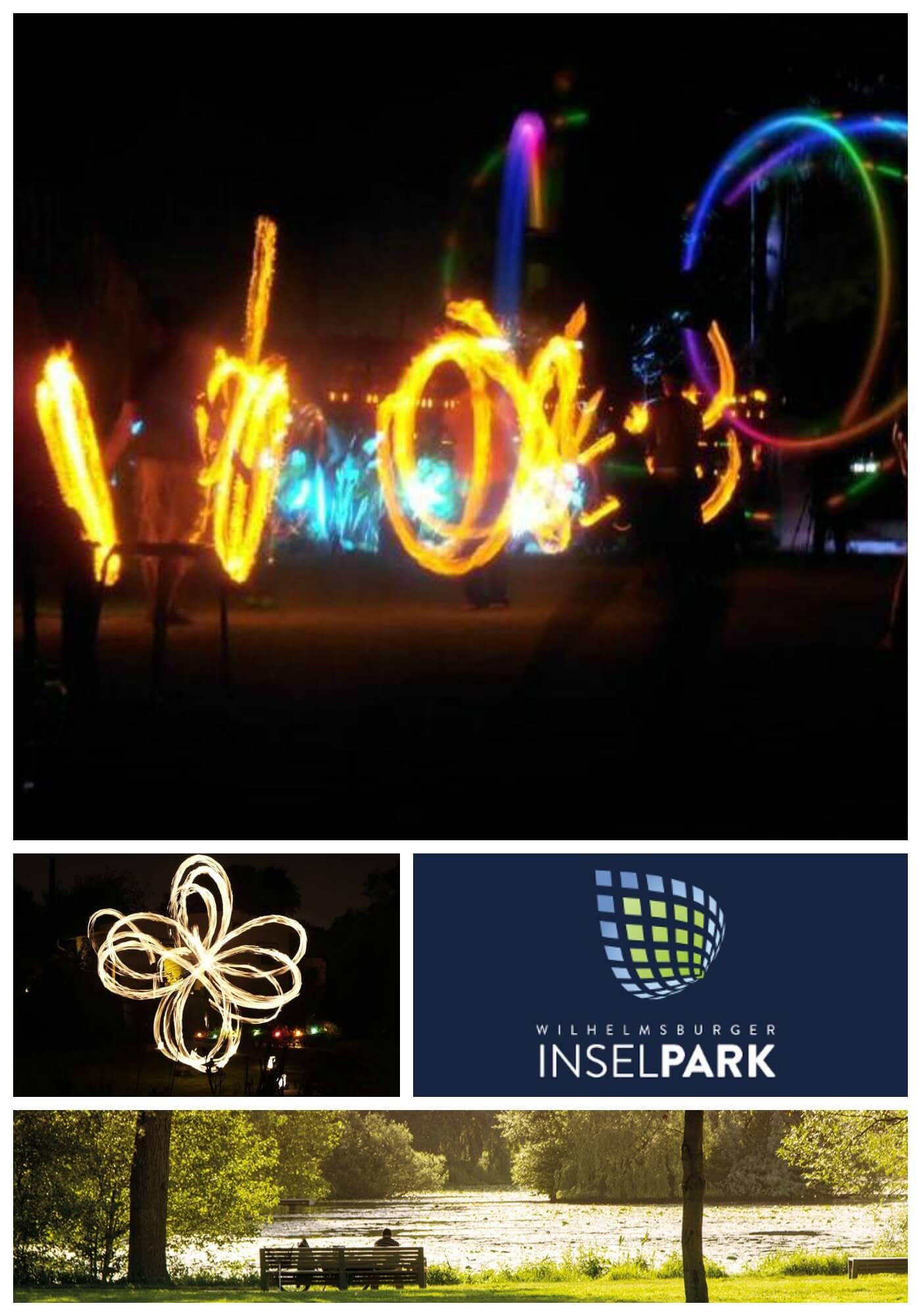 Der Inselpark soll leuchten! Für alle Flüchtlinge und alle ...
