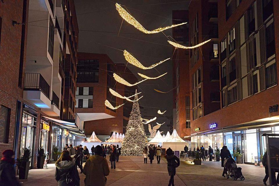 Weihnachtsmarkt Eröffnung Hamburg.Der Weihnachtsmarkt In Der Hafencity Fährt Ein Bisschen Was Auf Es
