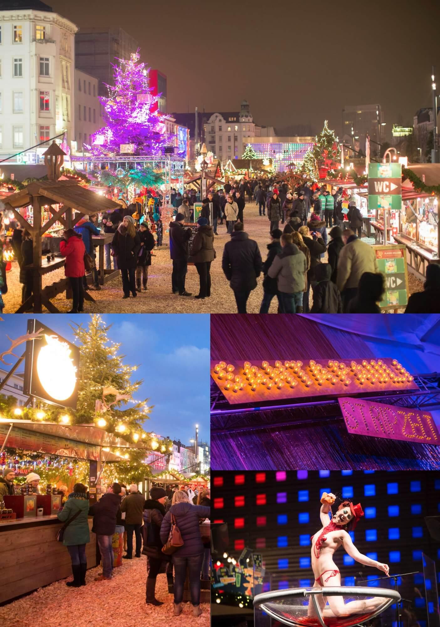 Wo Ist Heute Ein Weihnachtsmarkt.Endlich Ist Es Soweit Mit Santa Pauli Dem Geilsten Weihnachtsmarkt
