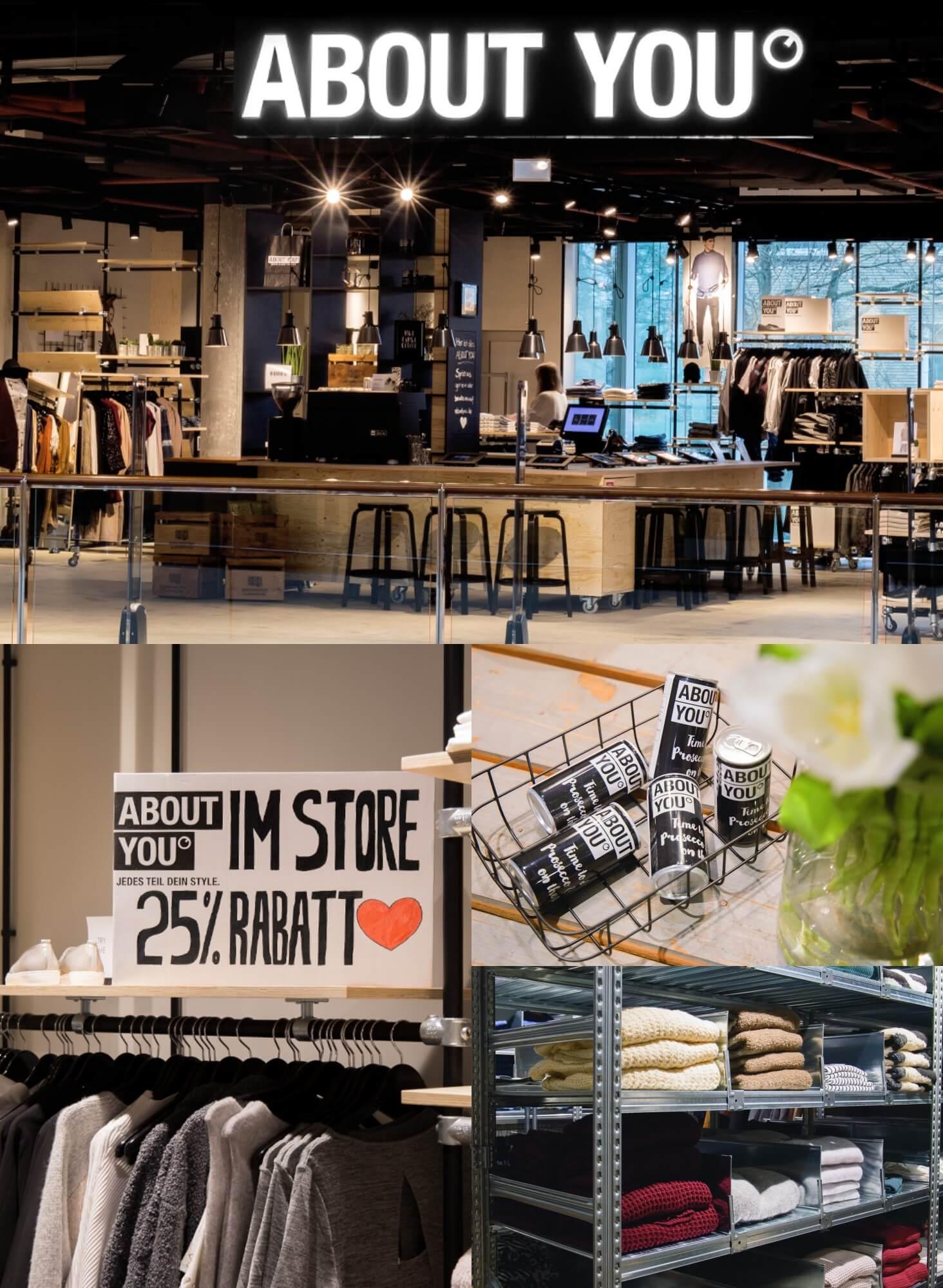 wow store opening und 25 rabatt auf alles heute er ffnet der fashion onlineshop about you. Black Bedroom Furniture Sets. Home Design Ideas