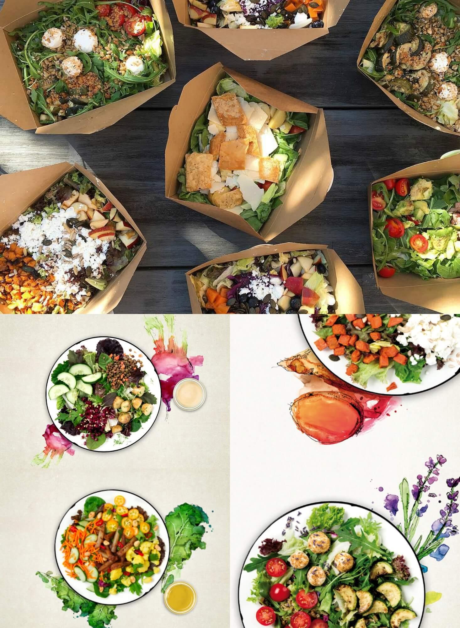 Na, Hunger? Stadtsalat versorgt dich mit leckeren Salaten, Rolls & homemade Drinks! Mit HiH sparst du 10 %! Einfach yummy! 😍
