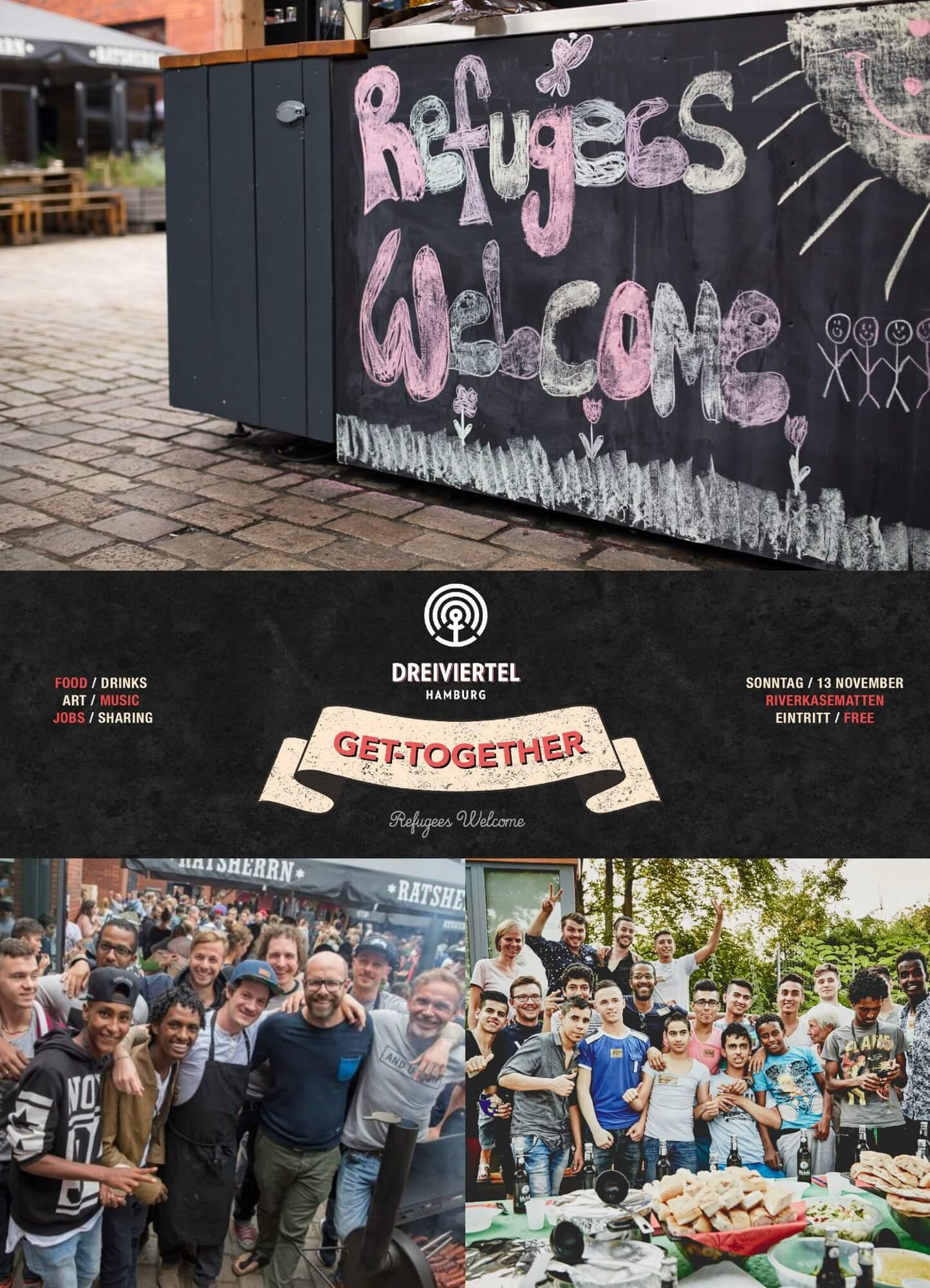 Das Drei-Viertel-Get-Together ist ein echter Allrounder – ein Mix aus toller Kunst, bester Musik & köstlichen Leckereien!