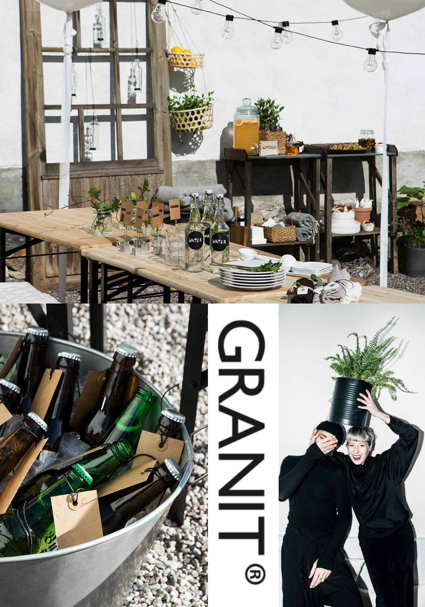 der interieur shop granit wird 20 um das zu feiern hei t es heute party shoppen du. Black Bedroom Furniture Sets. Home Design Ideas