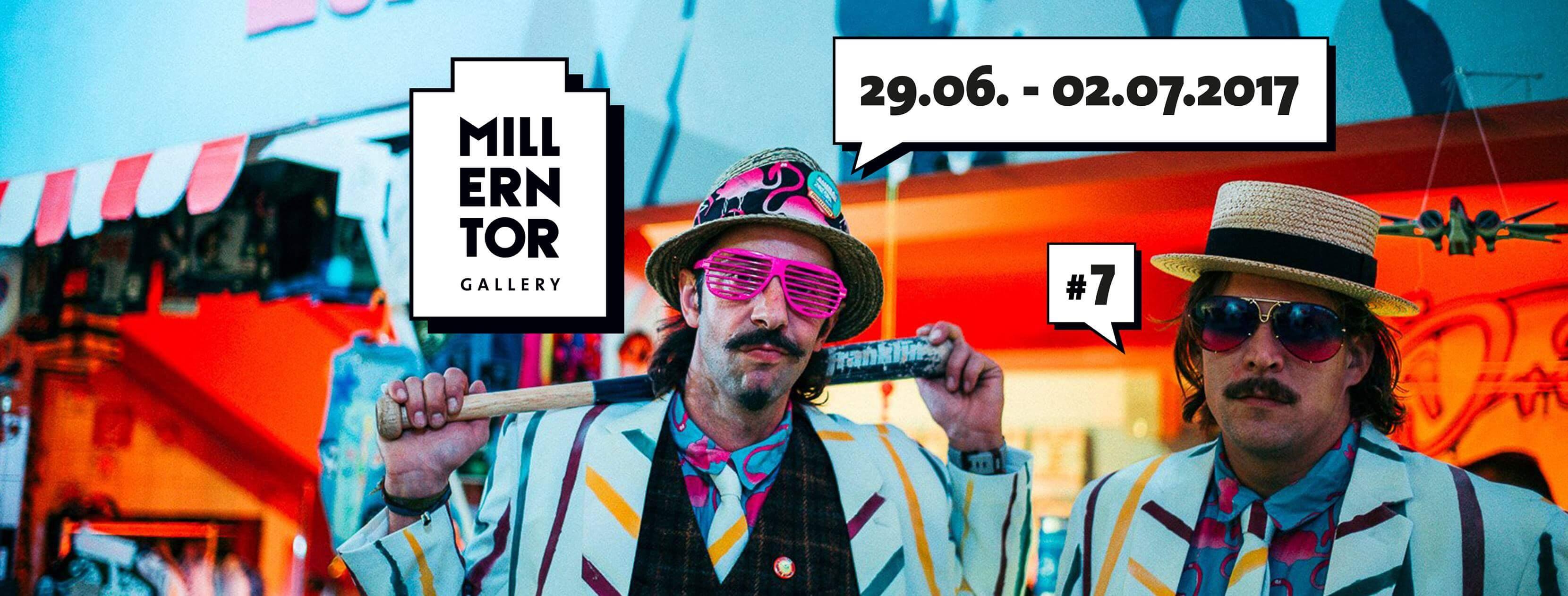 Millerntor Gallery geht in Runde 7! Noch bis Sonntag wird Kunst in Wasser transformiert!