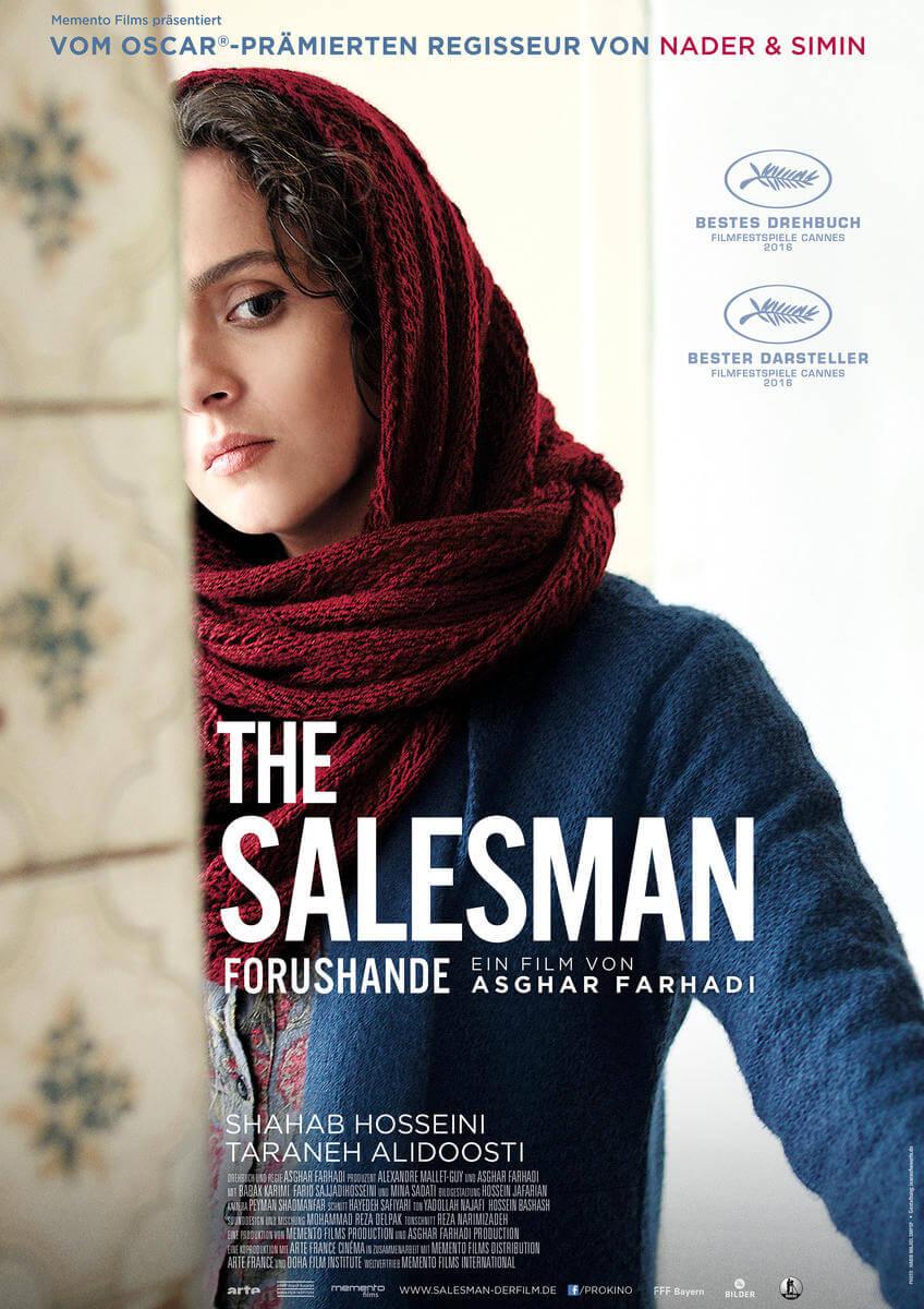 "Die Kino Nächte Barmbek präsentieren dir heute ""The Salesman (Forushande)""!"
