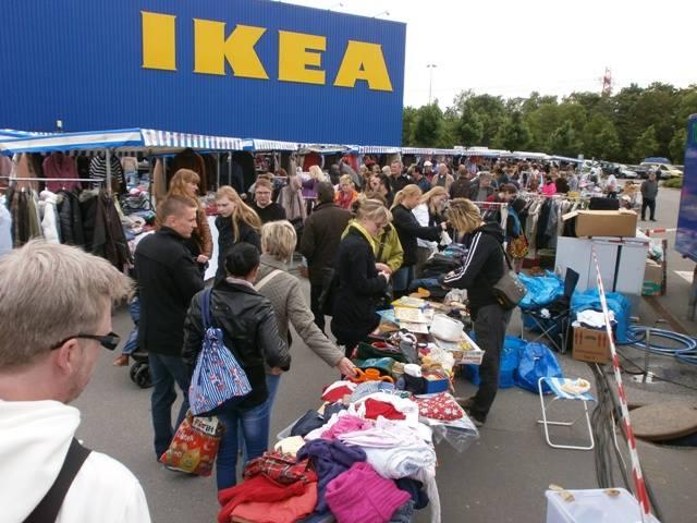 Schnäppchenjäger? Heute gibt's Flohmarktspaß beim IKEA in HH-Schnelsen!