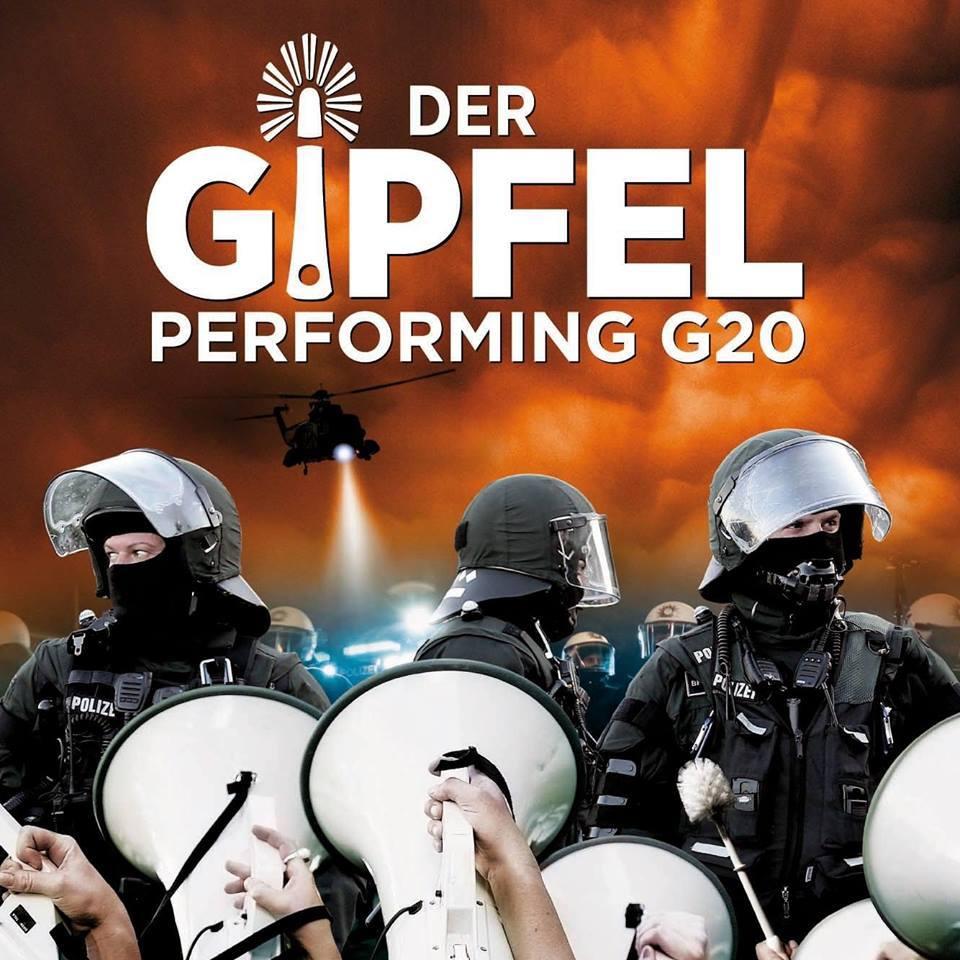 """Die Doku """"Der Gipfel – Performing G20"""" zeigt wie kunstvoll Protest sein kann."""