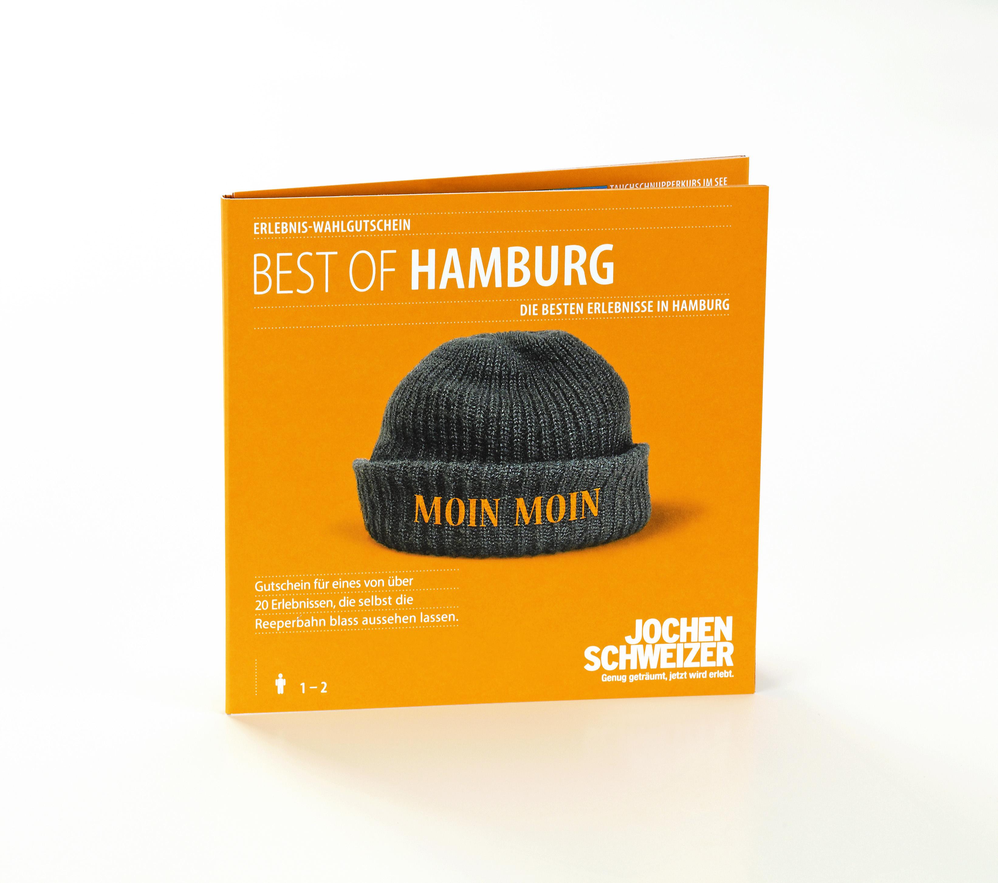 """Türchen 2 🎁 Freu dich auf 5×1 Jochen Schweizer """"Best of Hamburg"""" Erlebnisgutschein!"""