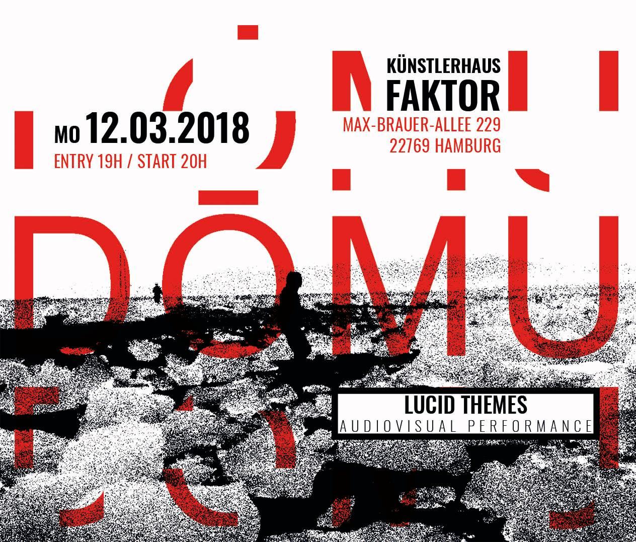 """Das Trio """"DŌMU"""" aus Leipzig zeigt eine audiovisuelle Performance!"""