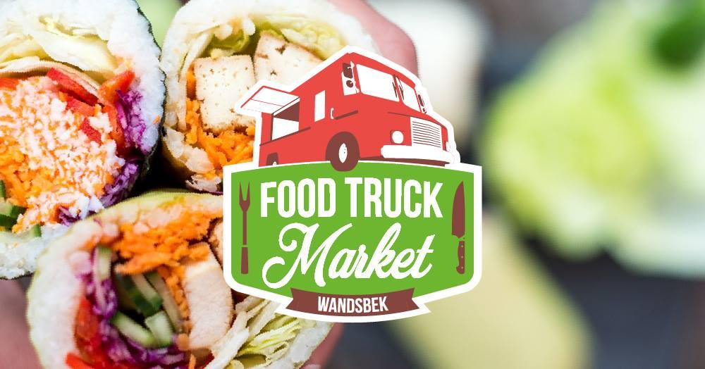 Auf dem Food Truck Market in Wandsbek kannst du unter freiem Himmel schlemmen.
