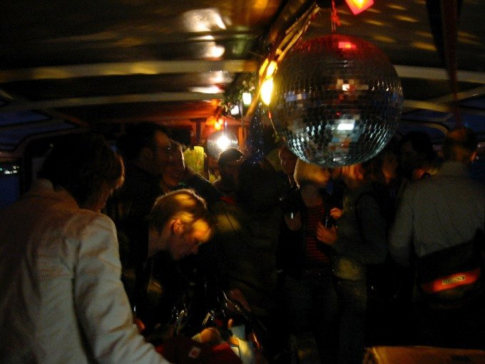 Die Bang Cherie Party wird soulig. Groove durch den Abend!