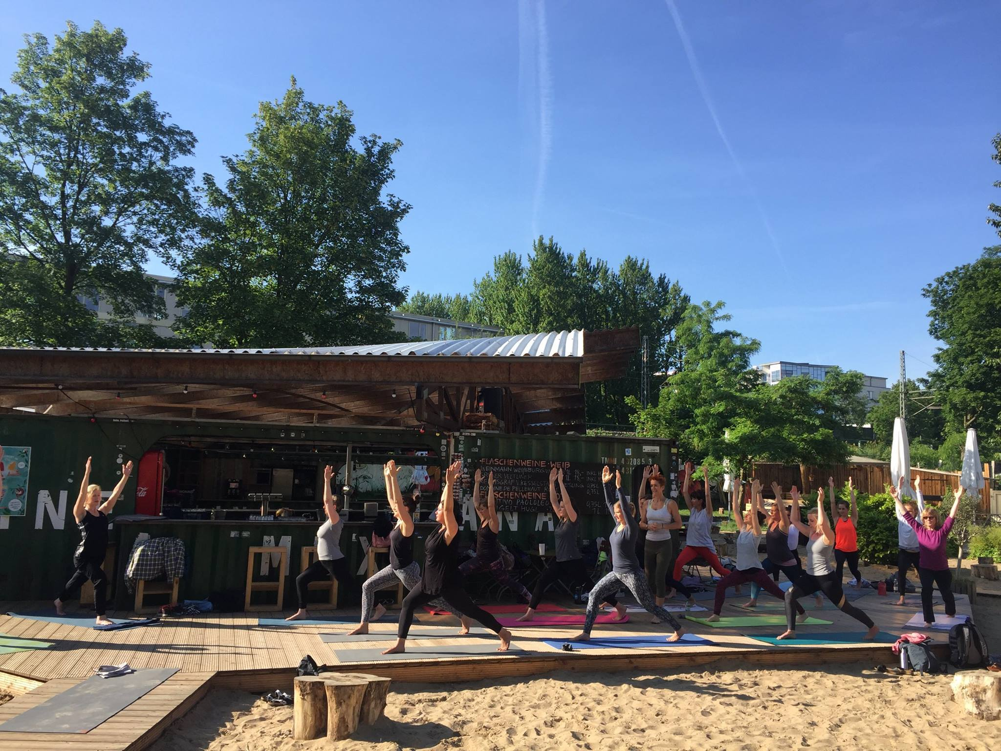 KAIFU-LODGE goes Open Air – mit Morning Workout & Yoga im Central Park.