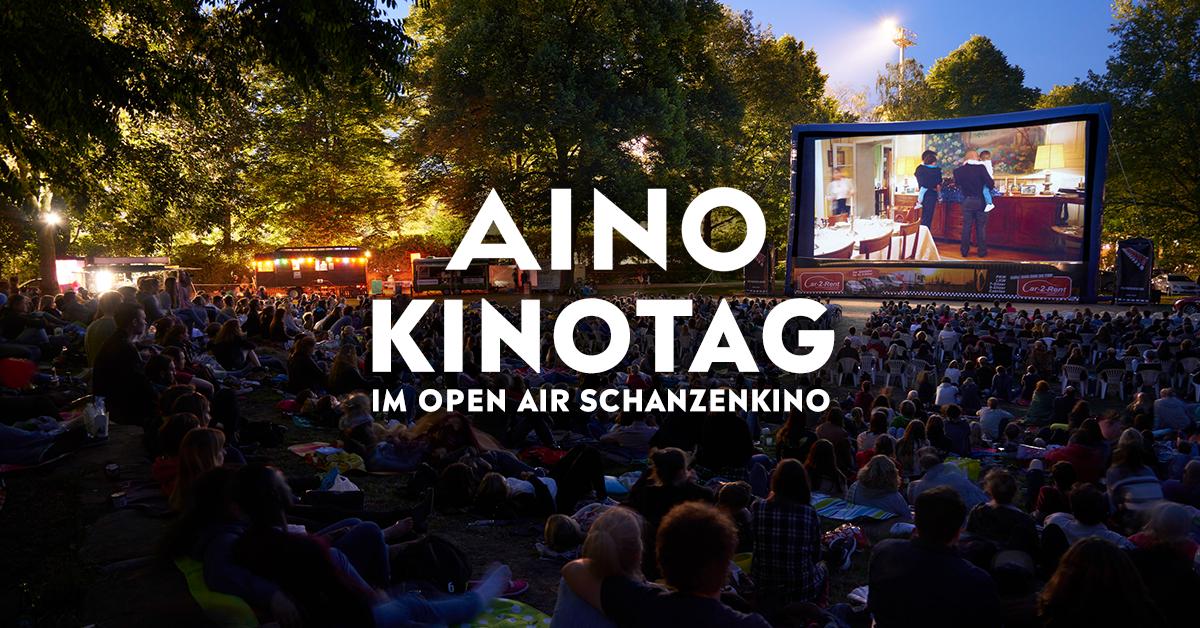 AINO gibt aus! Beim AINO-Kinotag im Schanzenkino gibts jeden Mittwoch gratis Popcorn!