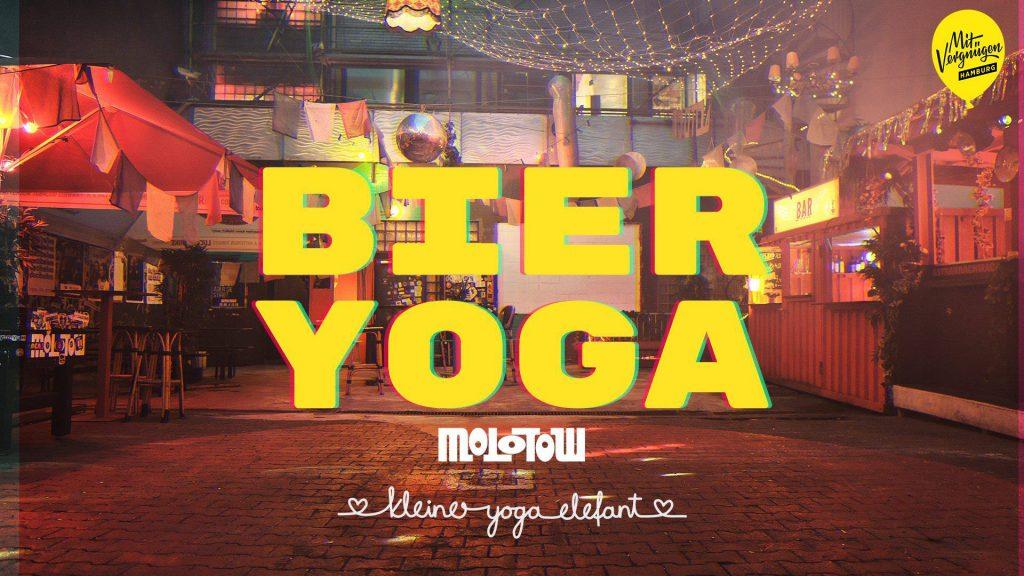 Bier und Yoga gleichzeitig? Jap, das geht!