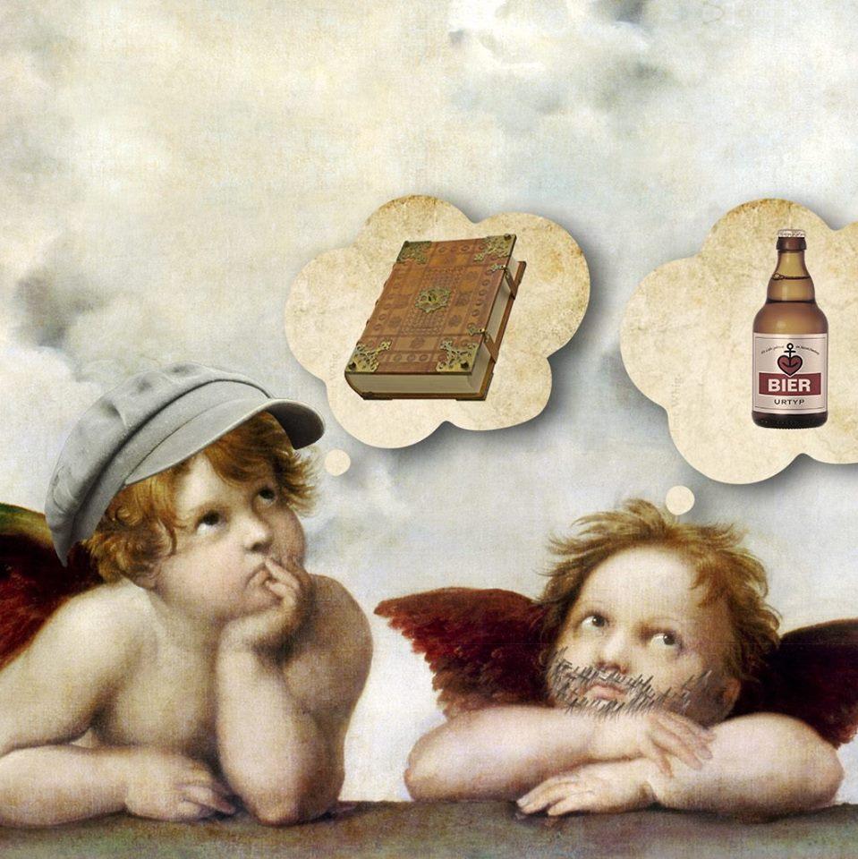 Bring deine Lieblingslektüre mit & lese für Bier!