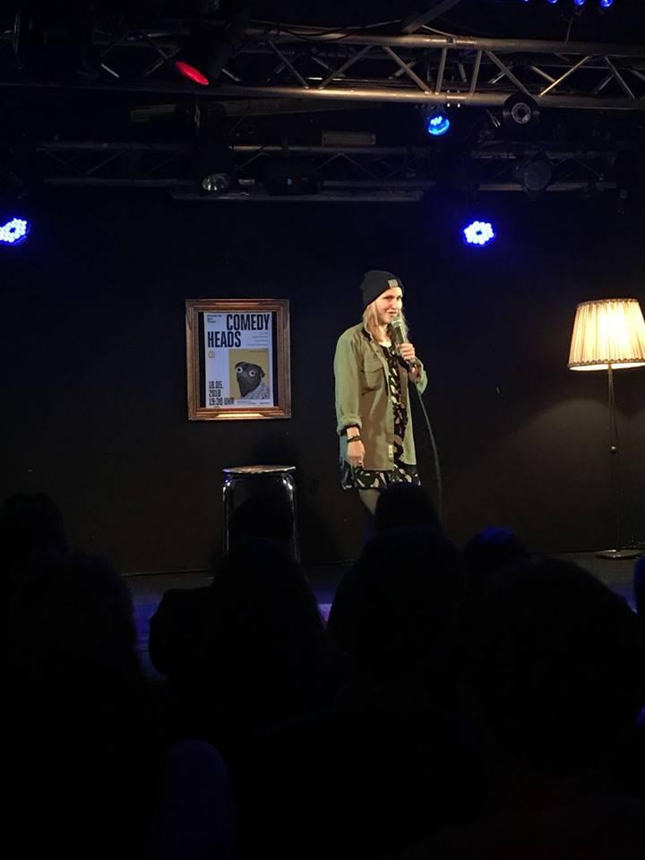 Die Comedyheads Stand-Up Show haut den ein oder anderen Lacher raus.