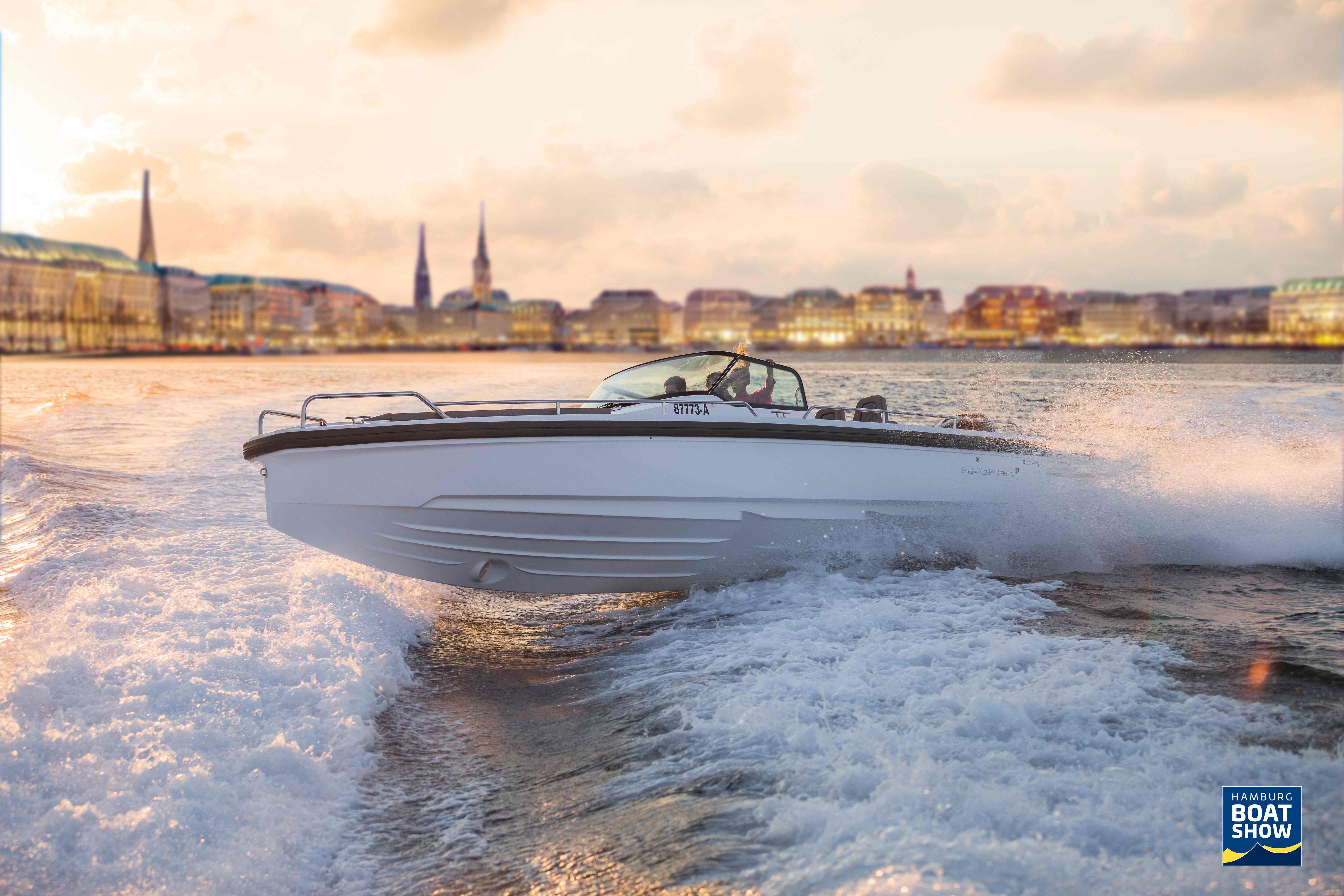 Ahoi Matrosen! ⚓️ Die Hamburg Boat Show ist das Event für Wassersport-Liebhaber!