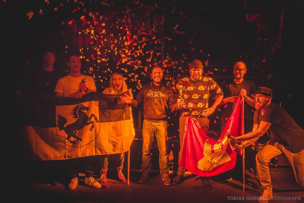 Beim Comedy City Battle bringen Hamburg und Berlin ihre besten Gags auf die Bühne!