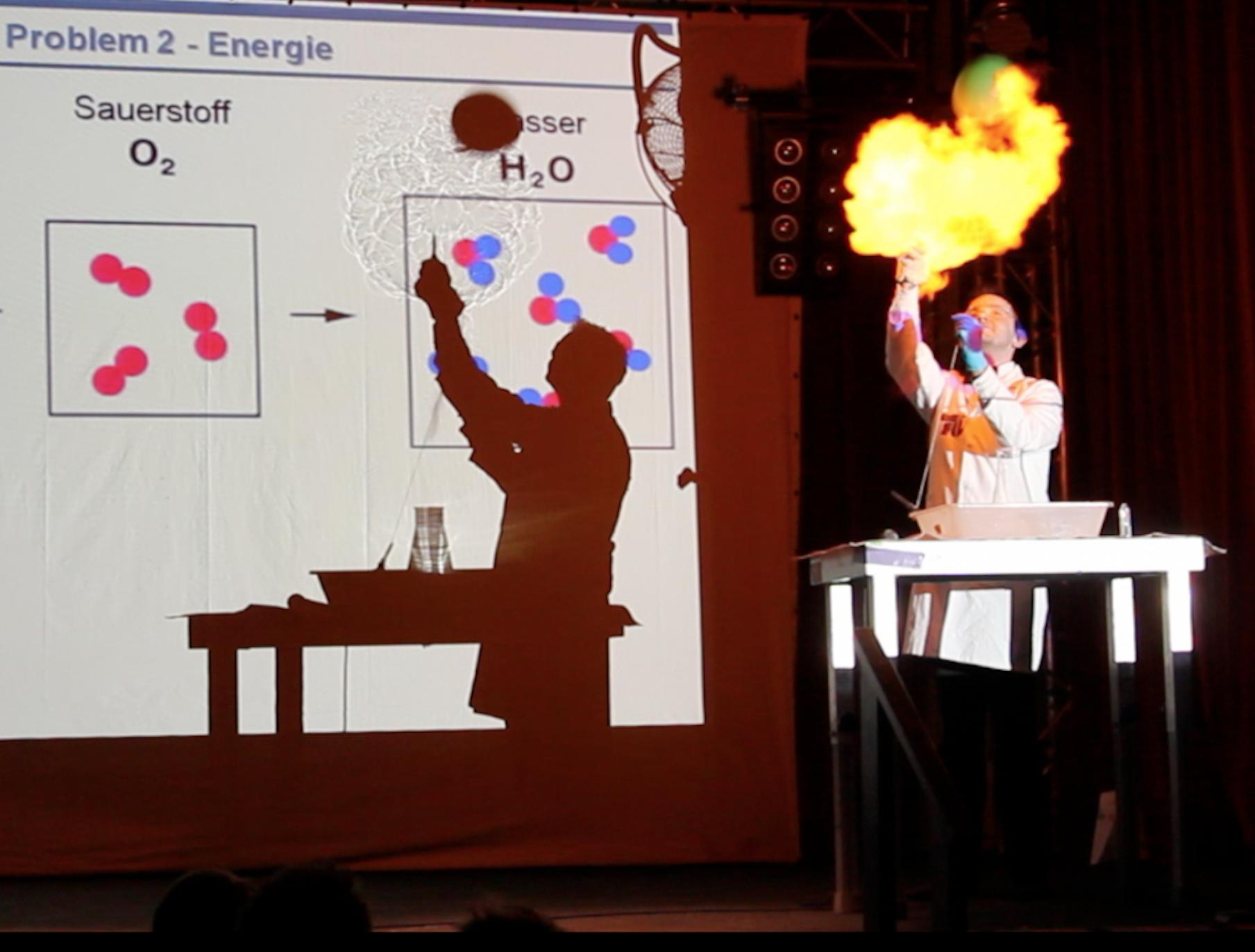 Der Science Slam fasziniert mit den Wundern der Wissenschaft!
