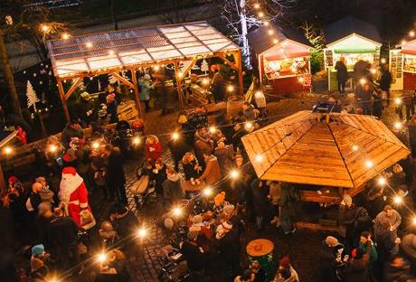 Weihnachtsmarkt Eröffnung Hamburg.Atmosphärisch Verträumt Der Eimsbütteler Weihnachtsmarkt Ruft Zur