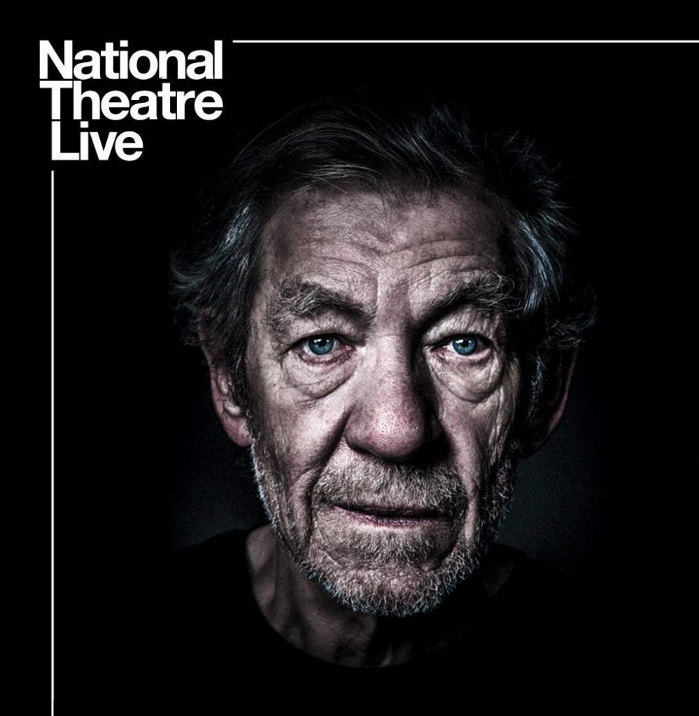 """Live Broadcast vom English Theatre: """"King Lear"""" mit dem """"Gandalf""""-Schauspieler."""