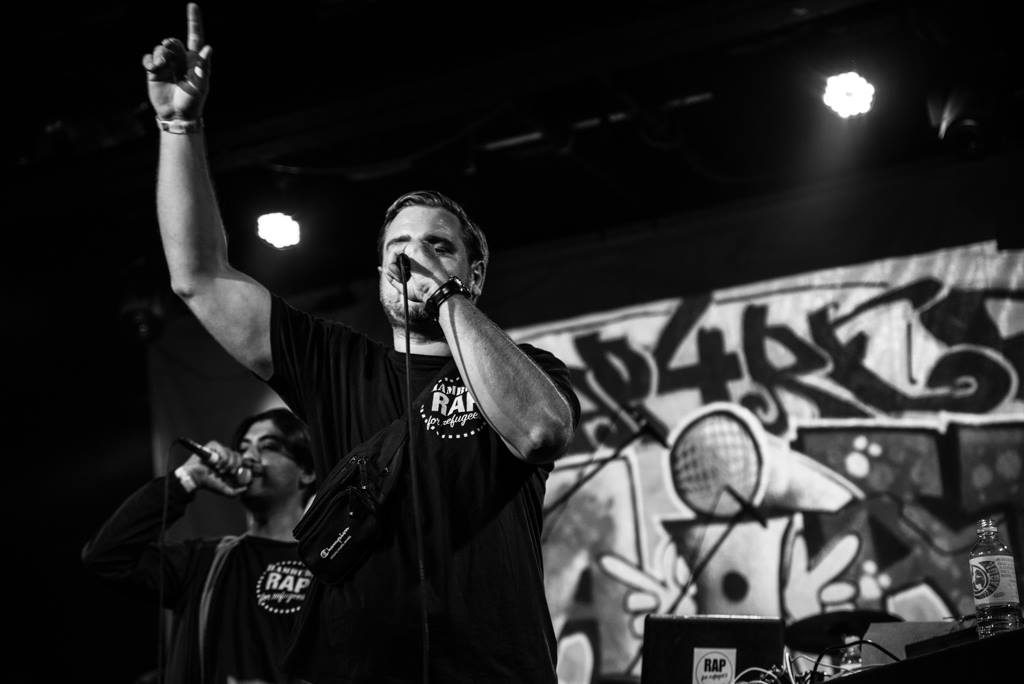 Rap for Refugees feiert den ersten Geburtstag u.a. mit Megaloh. 🙌