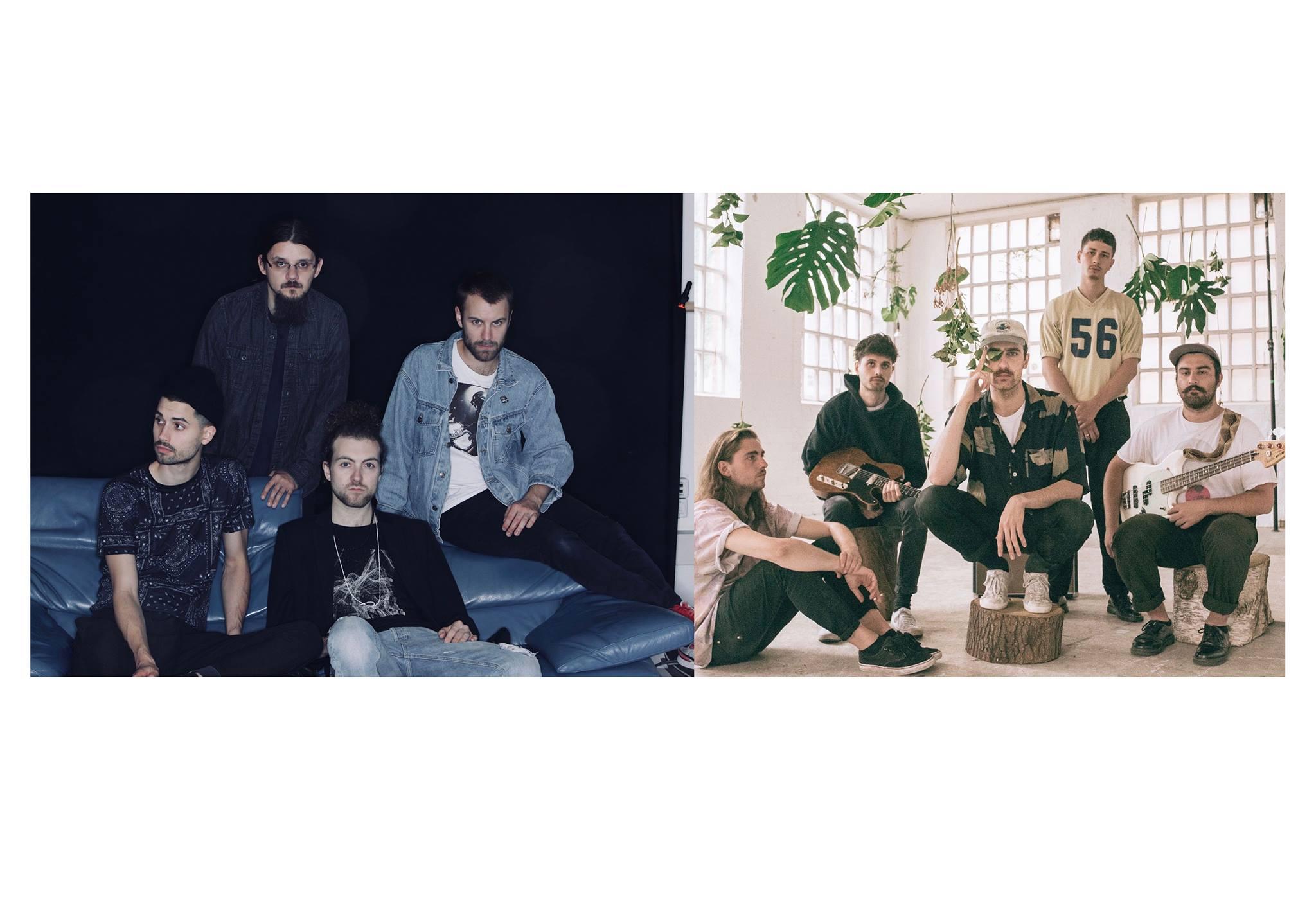 Die Bands Monako & Das letzte Kollektiv schmeißen ein Konzert unter der Sternbrücke!