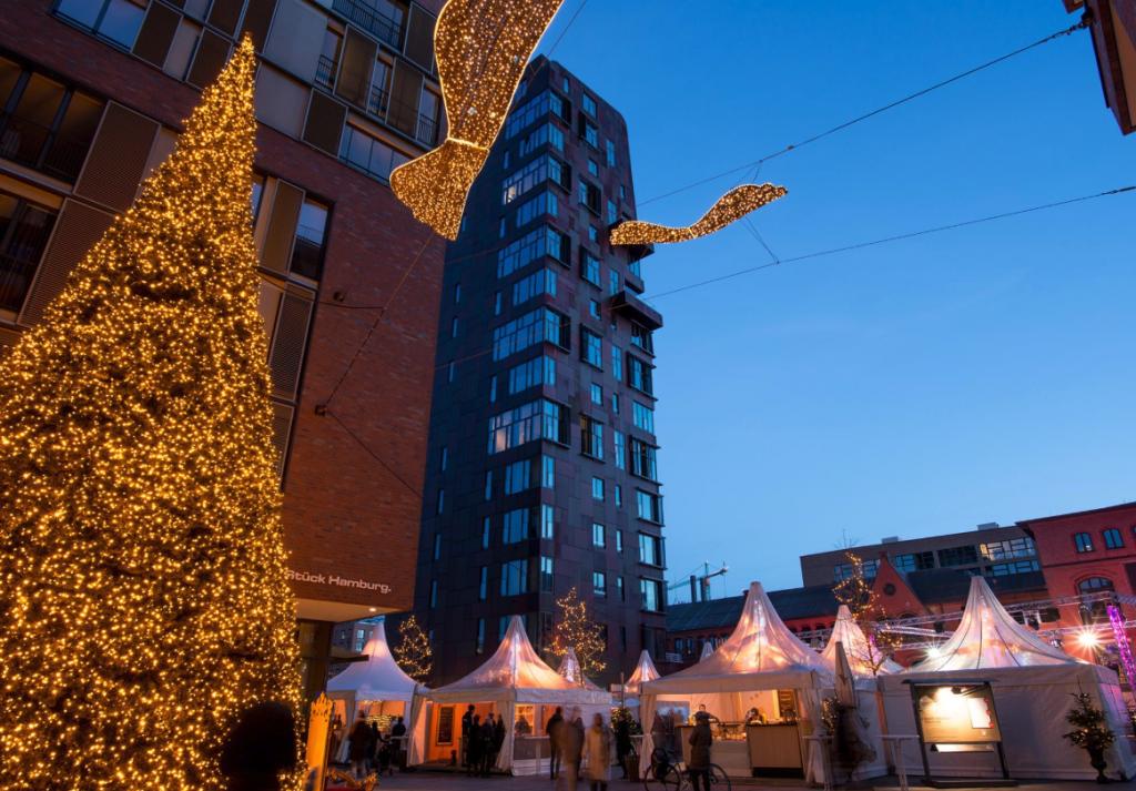 Der Weihnachtsmarkt HafenCity ruft mit DJ-Sounds und einer warmen WinterLounge!