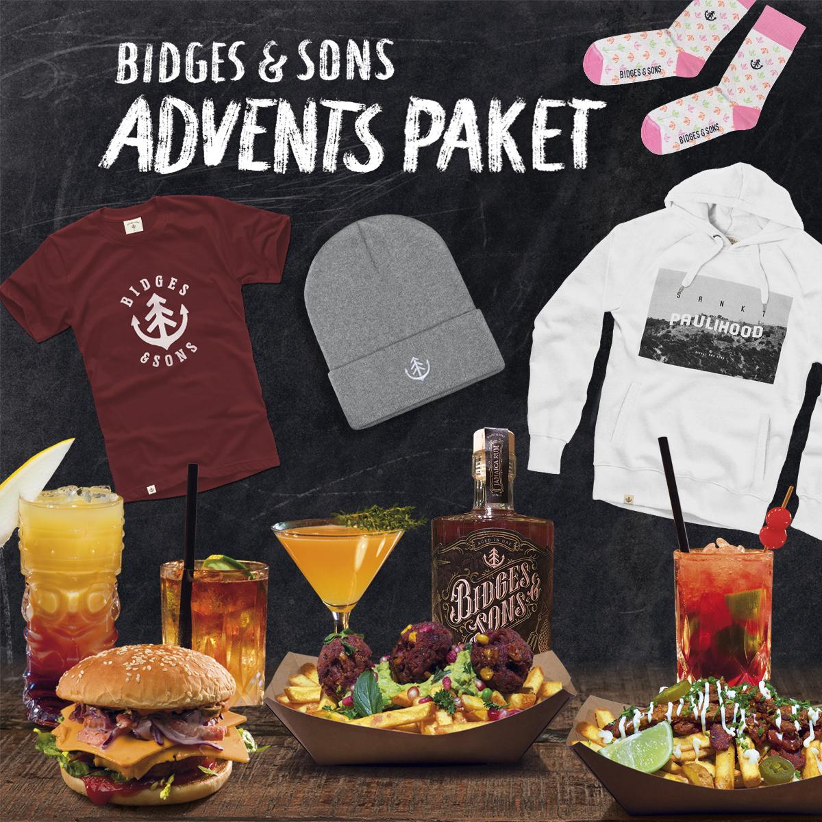 Ho! Ho! Ho! 🎅 Gewinne ein Gutschein-Paket von Bidges & Sons! 🎁
