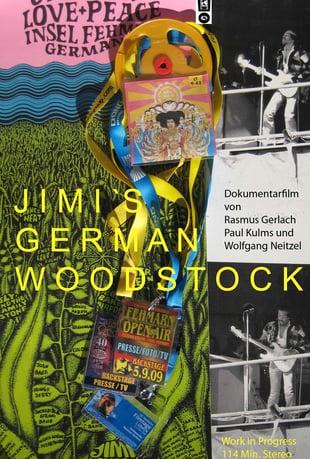 "Jimi Hendricks norddeutsche Odyssee in der Doku ""Jimi's German Woodstock"" entdecken!"