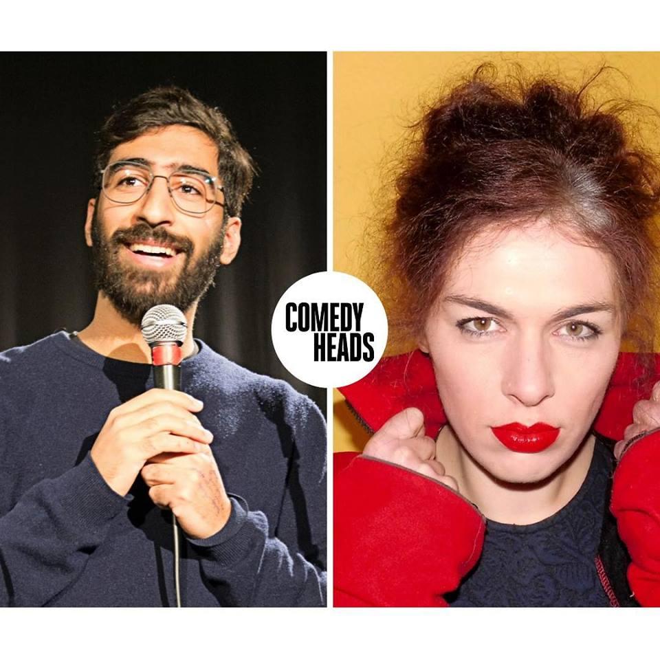 Ein Mikro & ein Publikum ist genug für die Künstler des Comedyheads Stand-Up Show!