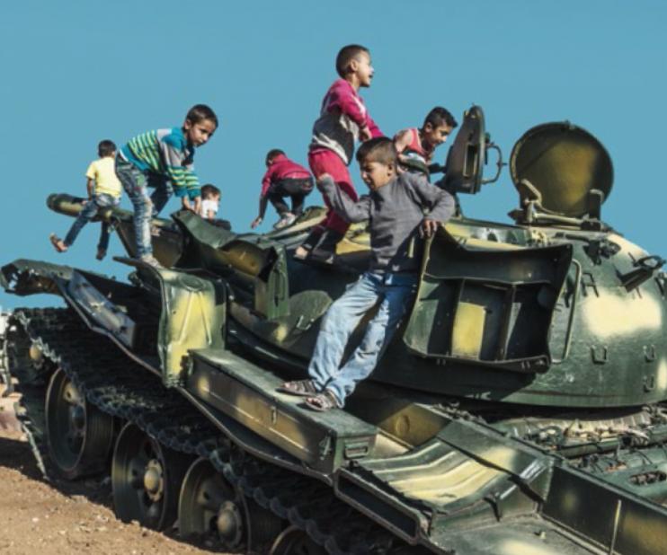 """Die Lesung """"Die Kurden"""" spricht über große gesellschaftliche Bewegungen in Rojava."""