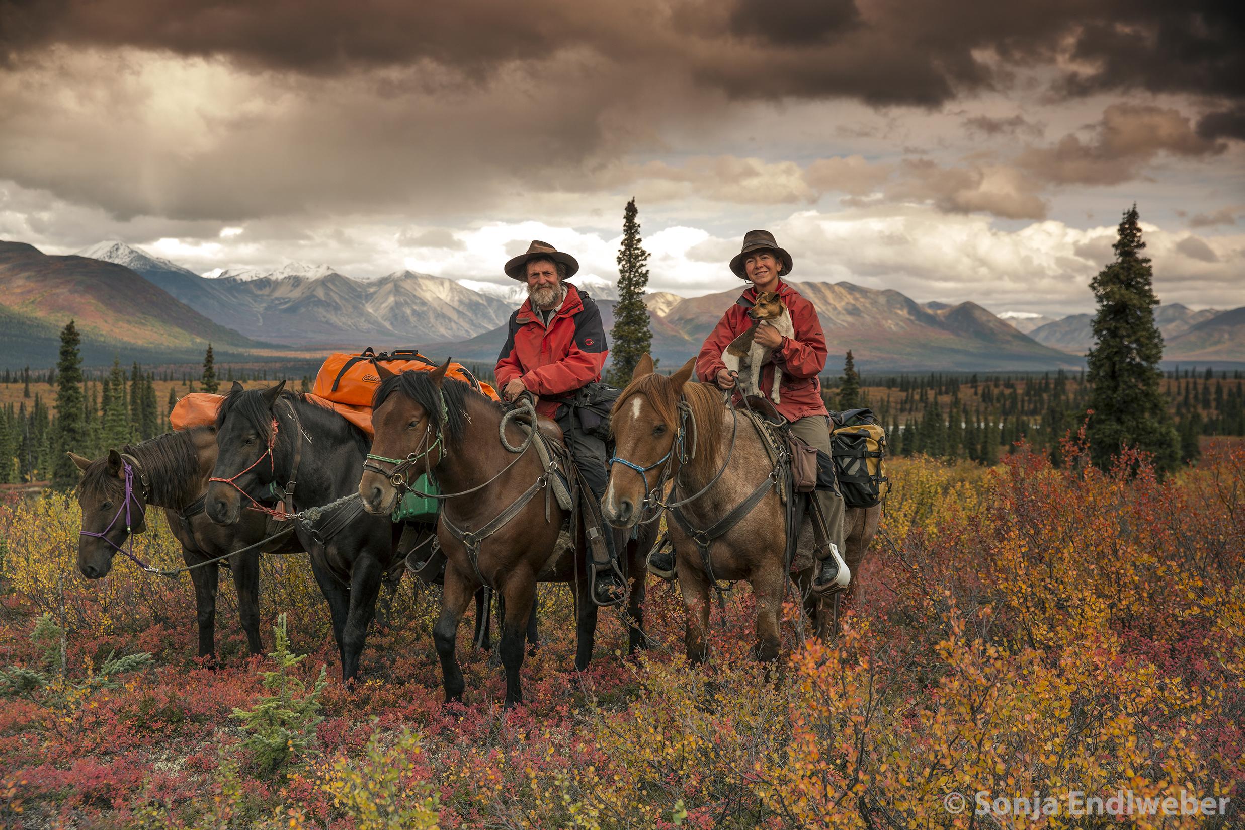 10.000 km im Sattel – ein langer Ritt durch die USA, Kanada & Alaska.