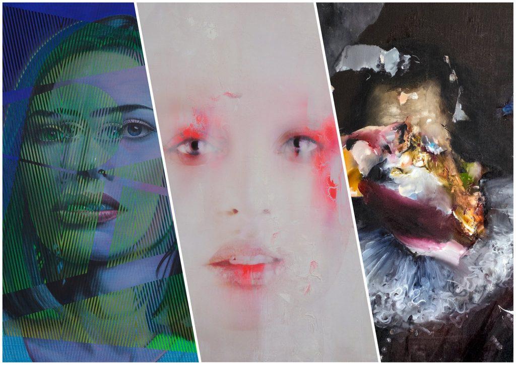 Vernissage: Three Solos & jede Menge Kunst.