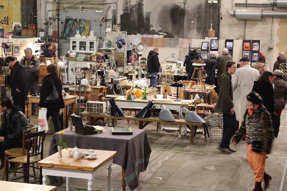 Oh wie schön! Der Vintage & Design Markt auf Kampnagel findet in 3 Hallen statt.