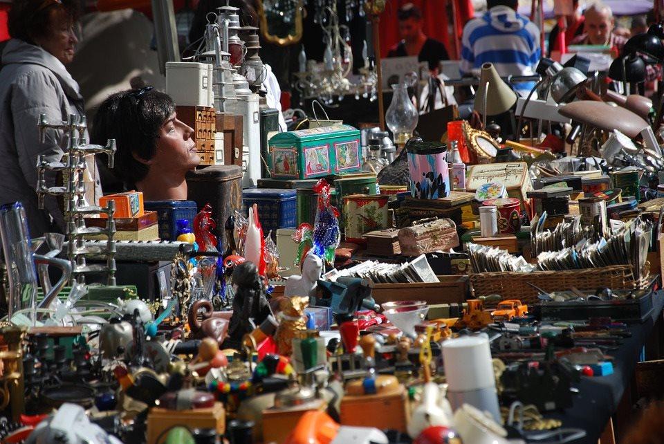 Stöber dich glücklich! Flohmarkt mit Vinyl-Floor im Hafenklang.
