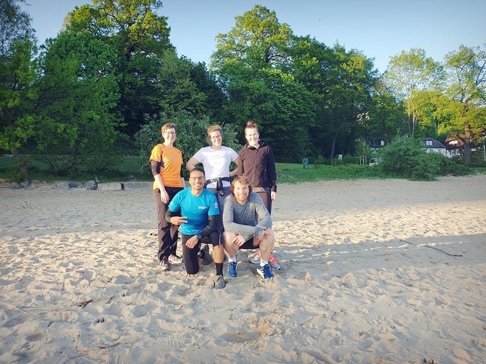Erkunde die Elbe gemeinsam mit anderen Läufer beim Einfachlaufen!