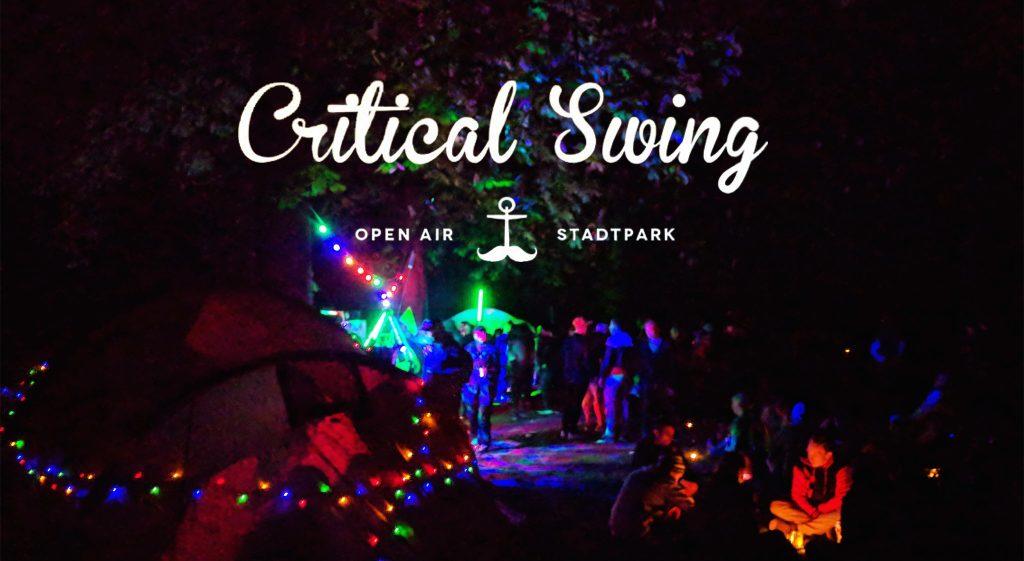 Der Stadtpark wird zur Partybühne: Critical Swing!