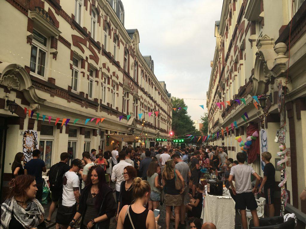 Das vielseitige Beckstraßenfest setzt auf Nachhaltigkeit.