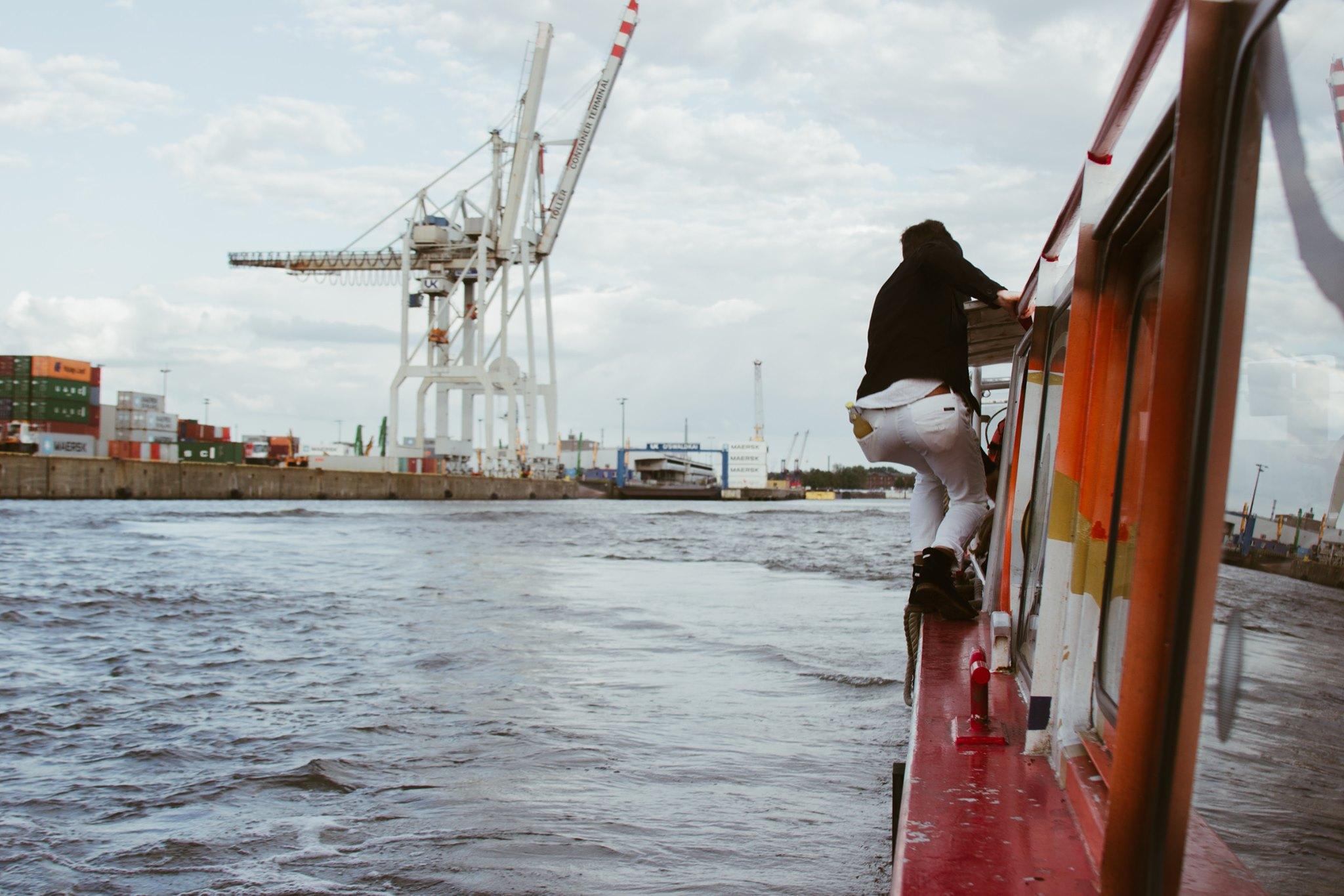 "Am ""Happy Boatsday"" sind charmante Poetry Slammer an Bord!"