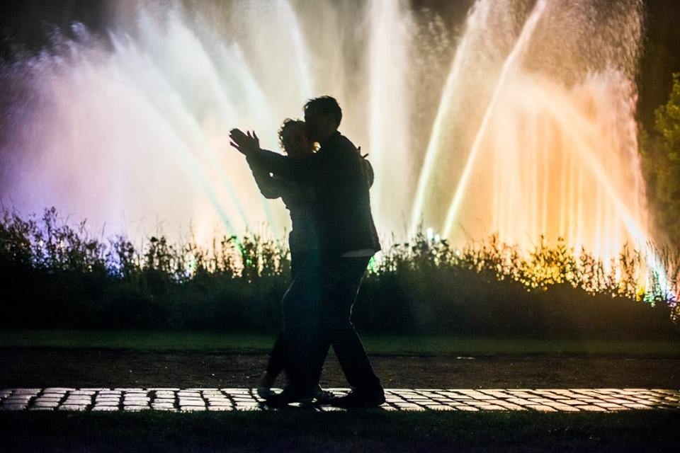 """Das Wasserlichtkonzert """"Tango"""" verführt zum Tanzen. 💃"""